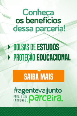 #agentevaijunto Fael, a sua faculdade parceira.