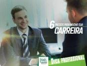 Jovem executivo em entrevista de emprego - 6 passos para mudar sua carreira