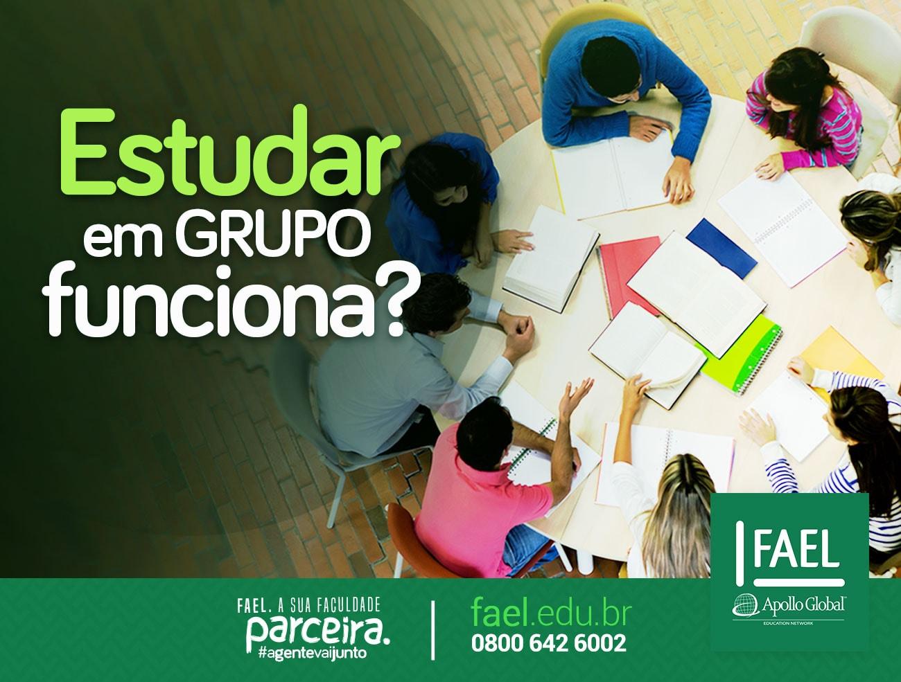 estudar em grupo