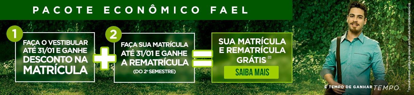 Vestibular FAEL - Sua Matrícula vira desconto até 31/01